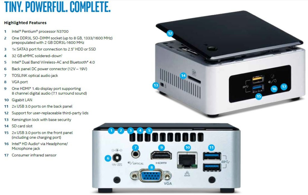 Ready-built NUC5GPYH