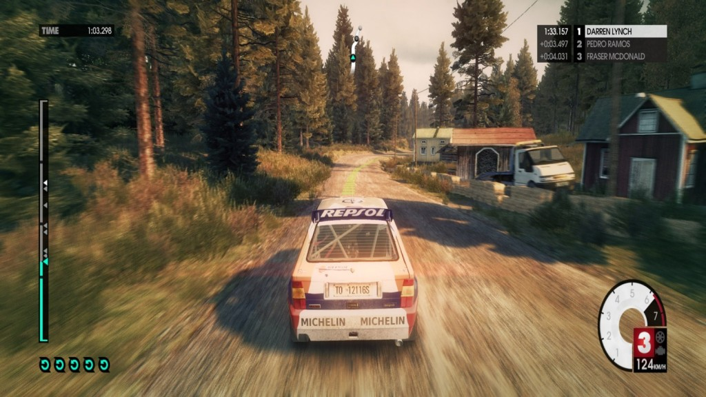 Dirt 3 Rally, Skylake i3 NUC
