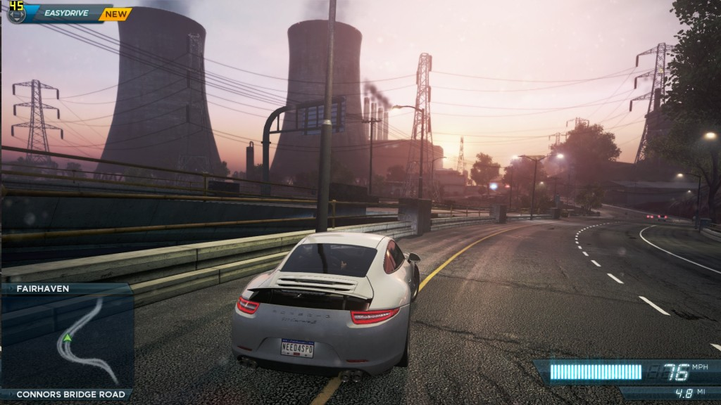 Need for Speed - Most Wanted on NUC6i7KYK