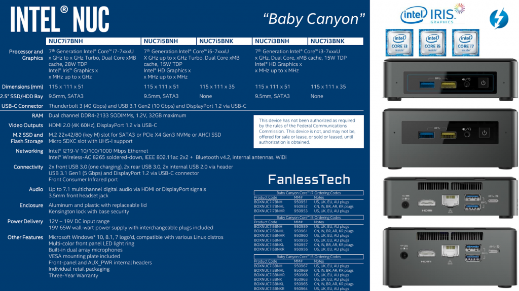 Fanlesstech.com Baby Canyon