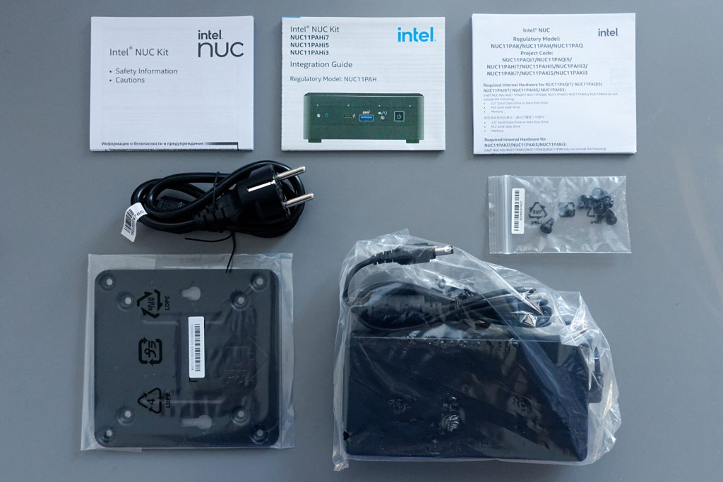 Panther Canyon NUC Review: box contents